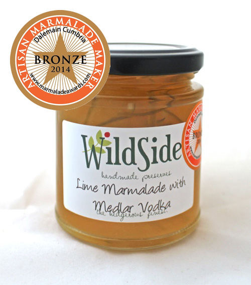 Lime Marmalade with Medlar Vodka
