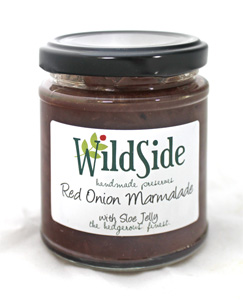 Red Onion Marmalade with Sloe Jelly