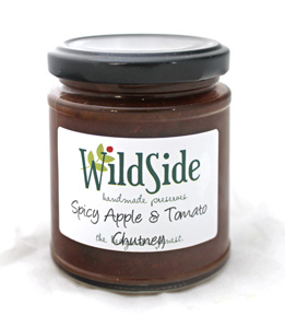 Spicy Tomato & Apple Chutney
