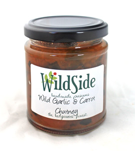 Wild Garlic & Carrot Chutney