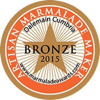 Artisan Marmalade Maker Bronze Award 2015